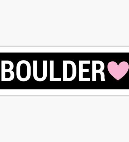 Boulder Brandy Sign Sticker
