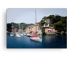 Portofino One Canvas Print