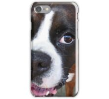Hi There!  -Boxer Dogs Series- iPhone Case/Skin