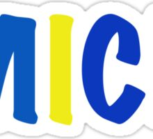 Michigan University  Sticker