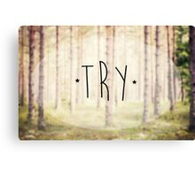 Try Canvas Print
