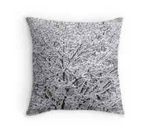 """Cottoned"" Trees Throw Pillow"