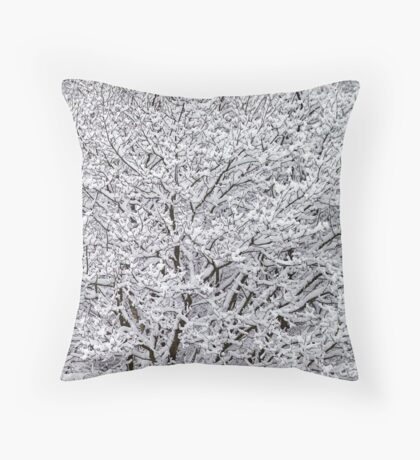 """""""Cottoned"""" Trees Throw Pillow"""