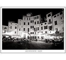 Lucca Amphitheatre Photographic Print