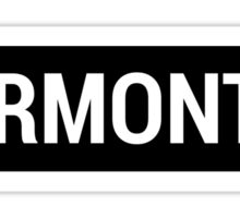 Vermont Brandy Sign Sticker