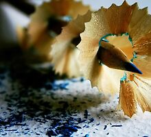 My Sharp Blue Pencil  by Ingz