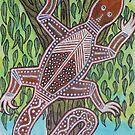 Like A Goanna Up A Tree by PhoenixArt