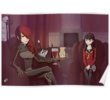 Persona - Misturu and Shadow Yukiko Poster