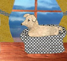 Doggie In The Window  by Linda Miller Gesualdo