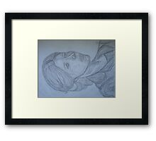 Kate, Portrait Framed Print