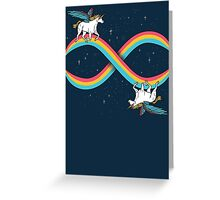 Infinite Magic! Greeting Card