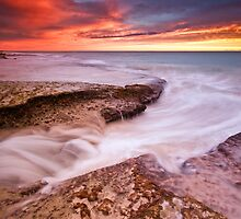 Sunset Storm II by Jonathan Stacey
