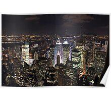 New York - Across the River Poster