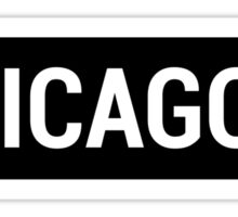 Chicago Brandy Sign Sticker