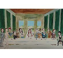 My Rendition of the Last Supper Photographic Print