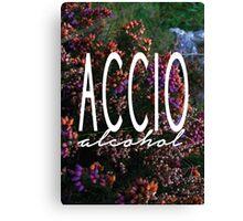 Accio Alcohol Canvas Print