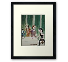 Last Supper Detail Framed Print