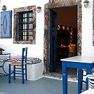 House on Santorini by Christine Wilson