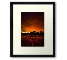 After the Storm... Framed Print