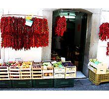 Store in Amalfi Photographic Print