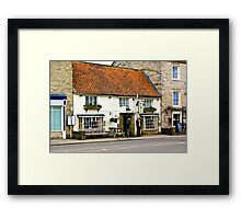 Pickwicks Bar  - Helmsley Framed Print