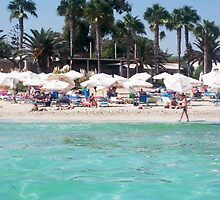 NIssi Beach - Ayia Napa by Claire Sidebotham