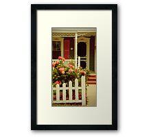A Seaside Cottage Framed Print