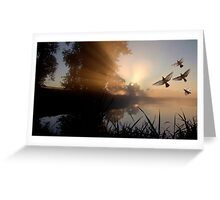Dreams of Freedom Greeting Card