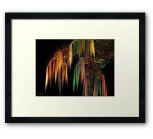 Weeping Fractal Framed Print