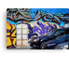 #10 Graffito Canvas Print