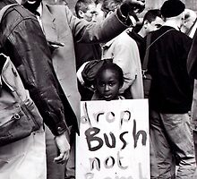 Bush Not Bombs by elisabeth tainsh