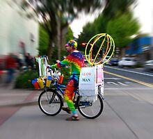 Glow Man by bicyclegirl