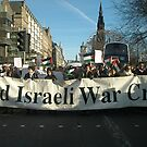 End Israeli War Crimes by elisabeth tainsh