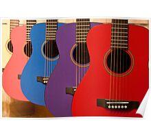 Flamenco guitars Poster