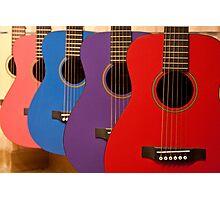 Flamenco guitars Photographic Print