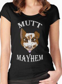 Mutt Mayhem Women's Fitted Scoop T-Shirt