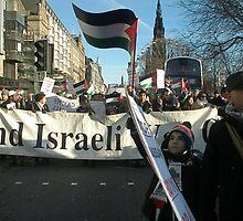 End Israeli War Crimes Demo by elisabeth tainsh