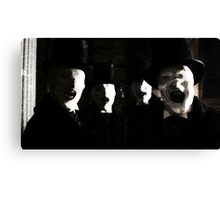 The Whisper Men Canvas Print