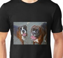 Hello -Boxer Dogs Series- Unisex T-Shirt