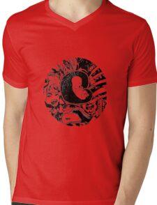 Spiral #3 Mens V-Neck T-Shirt