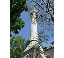 A minaret of Bayezid Mosque-TURKEY Photographic Print