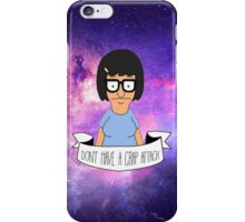 Galactic Tina iPhone Case/Skin