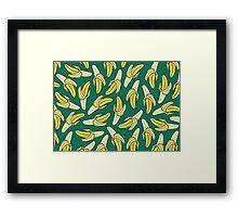 BANANA - EMERALD Framed Print