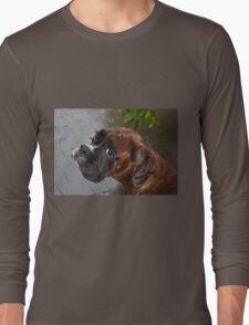 Luthien -Boxer Dogs Series- Long Sleeve T-Shirt