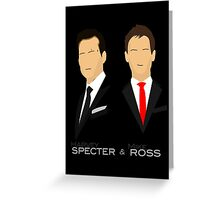 Suits - Harvey Specter, Mike Ross Greeting Card