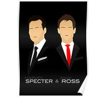 Suits - Harvey Specter, Mike Ross Poster
