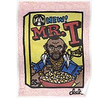 Mr. T Cereal Poster
