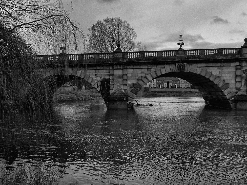 The English Bridge, Shrewsbury by John Callaway