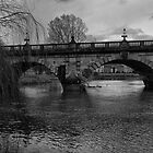 The English Bridge, Shrewsbury by John Callaway