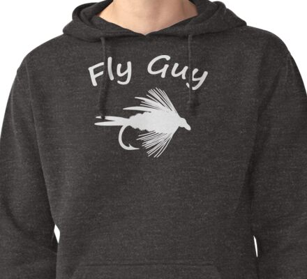 Fly Guy  - Fly Fishing T-shirt Pullover Hoodie